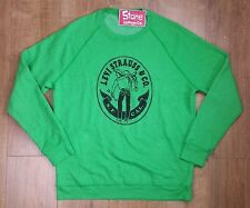 Levis Vintage Clothing LVC 1970s Green Sweater Jumper £119 Made in USA Sold Out