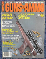 Vintage Magazine GUNS & AMMO December 1981 !!! SPRINGFIELD Model 1903 RIFLE !!!