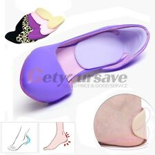 Silicone Gel High Heel Liner Grip Cushion Protector Foot Care Shoe Pad Insole