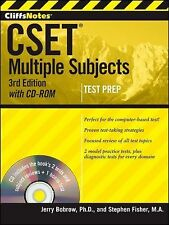 Cliffsnotes CSET : Multiple Subjects by Stephen Fisher and Jerry Bobrow...
