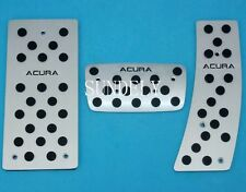 Aluminum AT Foot Pedals Rest Fit for Acura RL RLX TL TSX Automatic