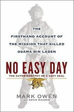 No Easy Day: The Autobiography of a Navy Seal - Hardcover