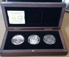 2015 - Canada - $25 Fine Silver Ultra-High Relief 3-Coin Set - Singing Moon Mask