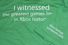 Xbox One FANFEST FAN FEST T-Shirt size L Gamescom 2015 extremely Rare