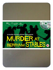 Murder At Berryam Stables Horse Racing DVD Murder Mystery Dinner Party 8 Players