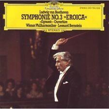 Beethoven: Symphonie (Sinfonia) No 3, Overture Egmont / Bernstein - CD