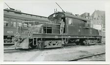 6B778 RP 1950s QRL&P QUEBEC RAILWAY LIGHT & POWER LOCOMOTIVE #31