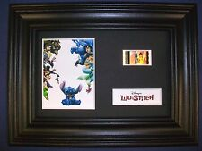 LILO AND STITCH Framed Movie Film Cell Memorabilia Compliments poster dvd