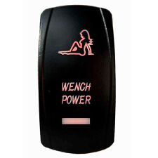 Tuff Led Lights - 3 Way Rocker Red Wench Power Switch