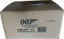 James Bond 007 Classics 2016 Full Case of 12 Factory Sealed Trading Card Boxes