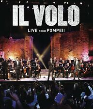 IL VOLO DVD - LIVE FROM POMPEII (2016) - NEW UNOPENED
