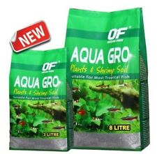 OCEAN FREE AQUA GRO SOIL for AQUARIUM PLANT or SHRIMP (3L)