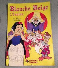 ALBUM / CLASSEUR PANINI : BLANCHE NEIGE ET LES 7 NAINS DE 1983 @ QUASI COMPLET