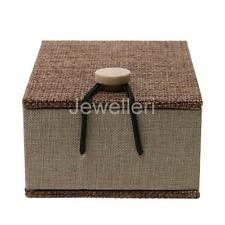 Decorative Trinket Jewelry Storage Vintage Wooden Small Box Case Container