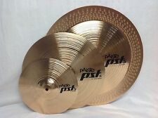 """Paiste PST5 Effects Cymbal Set/Free 14"""" Crash, Cow Bell & Stick Bag W/Purchase!!"""