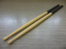 7a Hickory wood tip drum sticks with black grip. With free Us shipping.
