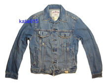 Abercrombie & Fitch Keene Valley Destroyed Denim Jacket L $200