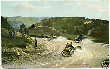 course de voitures anciennes.L'Auvergne.tournant du gendarme.vintage car race.