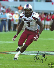 JADEVEON CLOWNEY SOUTH CAROLINA SIGNED 8X10 PHOTO W/COA