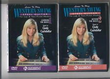 LEARN WESTERN SWING STEEL GUITAR - 2 DVD SET *NEW*