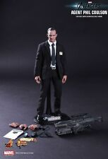 "HOT TOYS_The Avengers Collection__Agent PHIL COULSON 12 "" Limited Edition figure"
