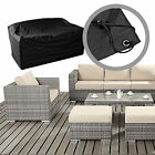 Premium Rattan 2-3 Seater Sofa + Armchair Garden Furniture Covers 24hr Delivery
