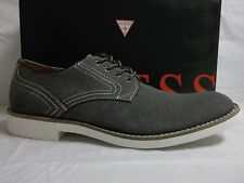 Guess Size 10.5 M Val Black Oxfords New Mens Shoes