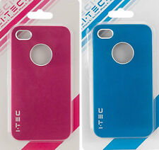 I Phone 4, 4S case 1 blue & 1 Rubin pink, case for I Phone 4S & I Phone 4