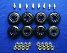 Outdoor Rollerblade Inline Hockey Skate Wheels (70mm / 82A) + Bearings + Spacers