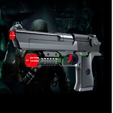 TOY GUN DESERT EAGLE PISTOL COMES WITH 5 PCS RUBBER BULLET AND NERF FORM DARTS