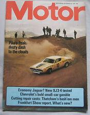 Motor magazine 20/9/1975 featuring Jaguar XJ road test