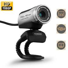 AUSDOM 1080P HD Pro Webcam AW615 Widescreen Video Calling Web Camera Mic US Ship