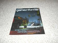 Game Informer Subscriber Cover 226 XCOM Enemy Unknown Mass Effect 3