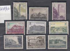 TURCHIA-TURKEY  1963 vedute di Ankara serie n. 1638-46   MNH