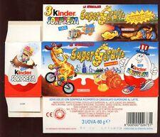 Kinder surprise, 1999 italien kinder surpresa boîte vide # 8328
