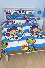 Disney jake neverland pirates doublons 100% officiel double housse de couette bed set