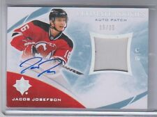 2010-11 UD Ultimate Collection Ultimate Rookies Jacob Josefson Autograph Patch