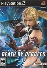 Death by Degrees (Sony PlayStation 2, 2005) Disc Only
