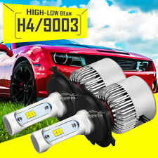 PAIR H4 180W 18000LM Hi-Lo Beam PHILIPS CSP LED Headlight Bulbs Conversion 6500K