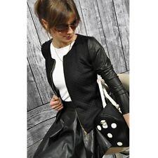 Women Slim Casual Business Blazer Suit Long Sleeve Jacket Coat Outwear Zipper