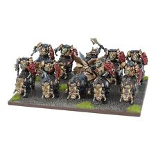 Mantic Games Kings of War BNIB Abyssal Dwarf Slave Orc Gore Regiment MGKWK301