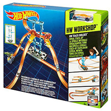 HOT WHEELS TRACK BUILDER Spiral stack up starter set