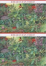USA Hawaiian Rain Forest tolles Set 10 Ganzsachen, Postkarten, postfrisch, MNH