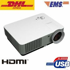 4500 Lumens Home Theater Multimedia USB HDMI 1080P Full HD LCD LED Projector