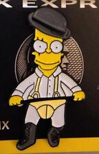 Clockwork Orange BART SIMPSON Enamel Pin the simpsons droogs