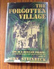 Steinbeck ~ The Forgotten Village ~ First Edition ~ DJ
