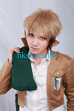 Synthetic Christmas Party Hair Attack On Titan Jean Kirstein cosplay wig