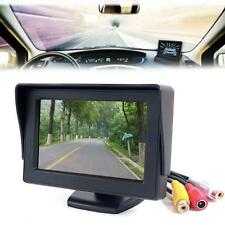 "4.3"" TFT LCD Color Screen Car Rear View Monitor DVD GPS for Car Backup Camera KJ"
