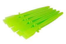 10 x Green Plastic Glue Spreaders Craft Adhesive Paste PVA Spatulas S7306