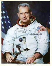 Astronaut DONALD K. SLAYTON Signed Photo